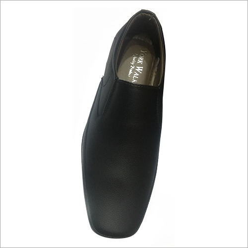 Mens Plain Black Formal Shoes