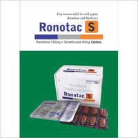 Ranitidine 150mg Simethicone 40mg Tablets