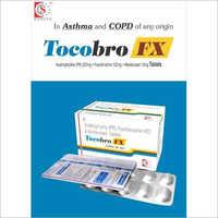 200 MG Acebrofyline Fexofenadine 120 MG Montelukast 10 MG Tablets