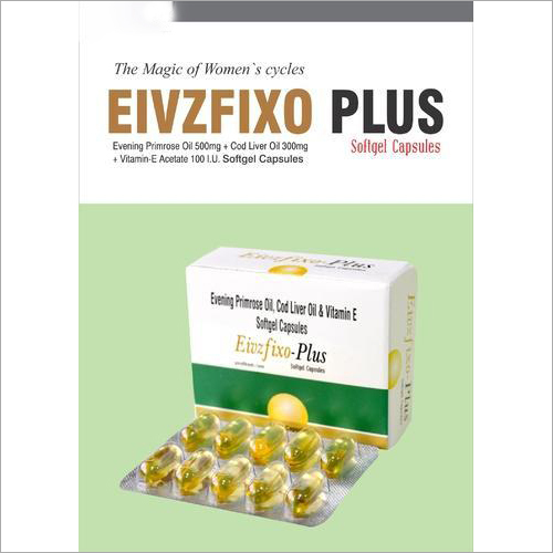 500 MG Evening Primrose Oil And Softgel Capsules