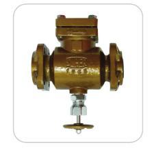 Piston Type Cast Iron Check Valve Flanged