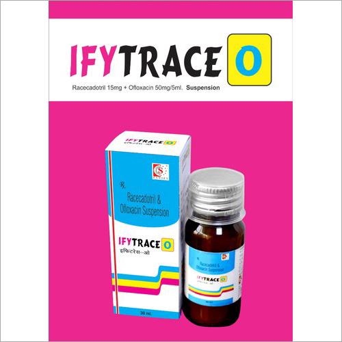 Racecadotril And Ofloxacin Suspension