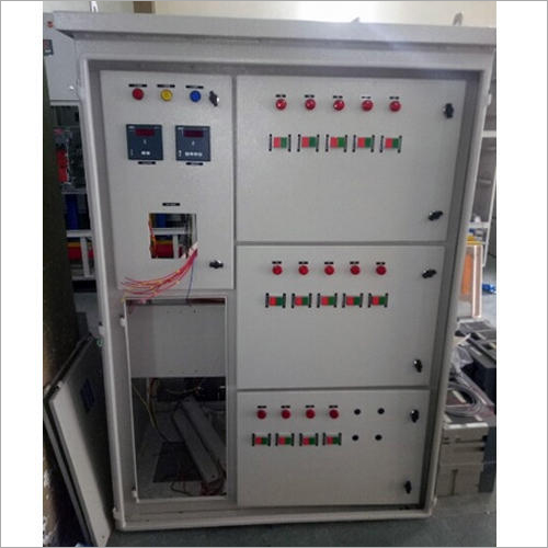 Electric Capacitor Control Panel