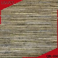 3D European Jute Wallpaper