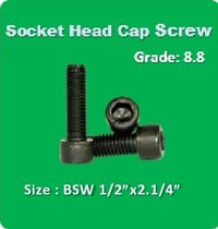 Socket Head Cap Screw BSW 1 2x2.1 4