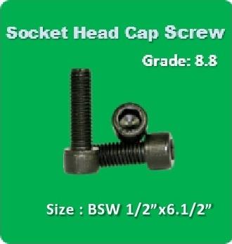 Socket Head Cap Screw BSW 1 2x6.1 2