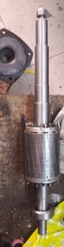 Motor Armature Shaft