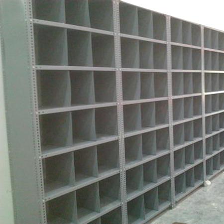 Mild Steel Partition Storage Racks