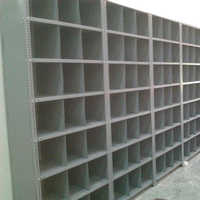 Mild Steel Partition Storage Racks