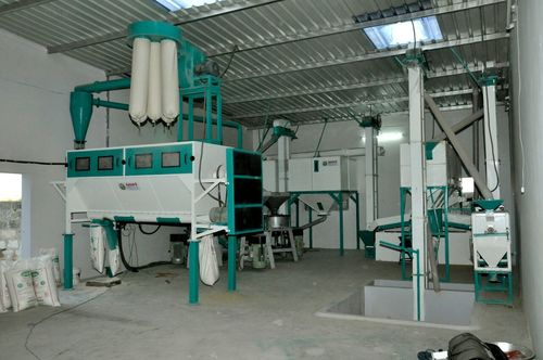 Fully Automatic Atta Chakki Plant With Gravity Separator