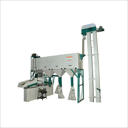 4 HP Commercial Wheat Cleaning Machine