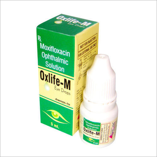 Moxifloxacillin Ophthalmic Solution Eye Drops