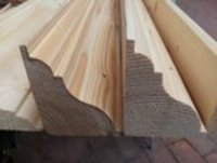 solid  hard wood  skirting mouldings