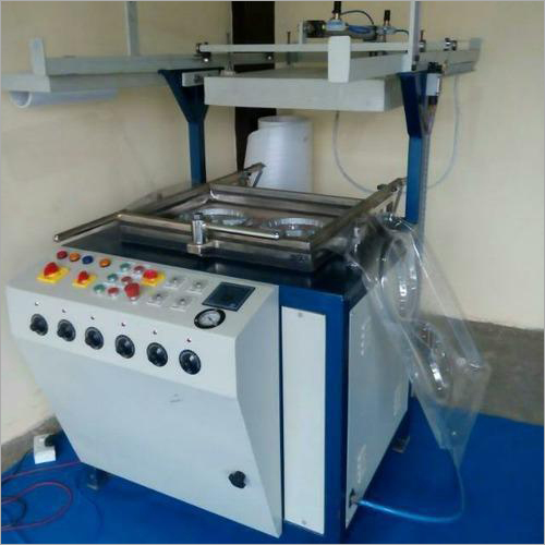 Electrically Operated Thermocol Plate Making Machine