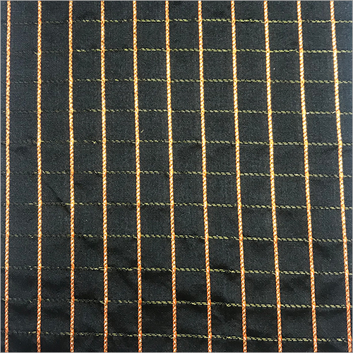 Printed Check Sqaure Fabric