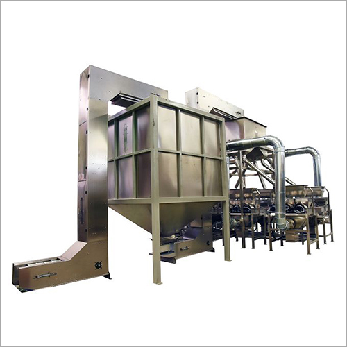 Dry Whole Peanut Blanching Machine