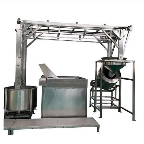 Peanut Frying Pan Machine
