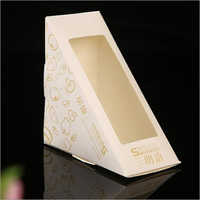 Printed Window Sandwich Box