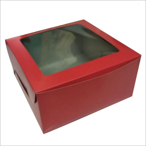 Printed Window Burger Box