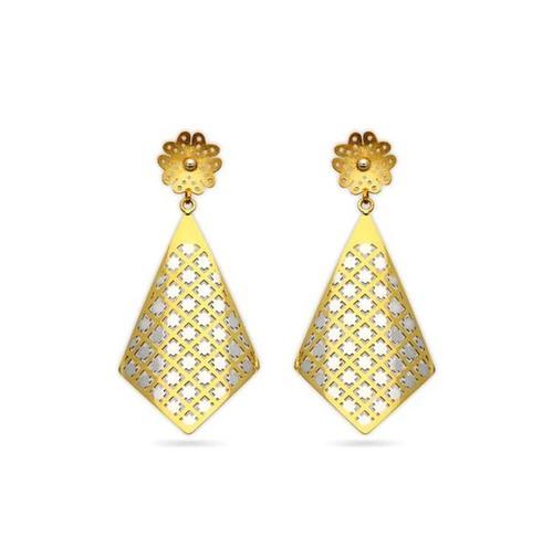 Trapezium shape hanging Earrings