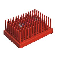 Test Tube Peg Rack Polypropylene Labappara