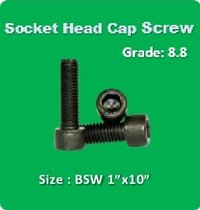 Socket Head Cap Screw BSW 1x10