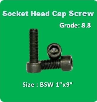 Socket Head Cap Screw BSW 1x9