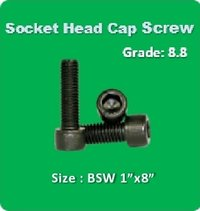 Socket Head Cap Screw BSW 1x8