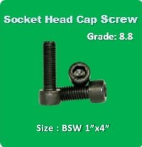 Socket Head Cap Screw BSW 1x4