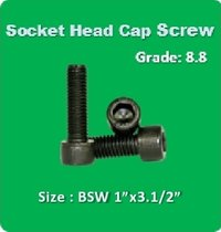 Socket Head Cap Screw BSW 1x3.1 2