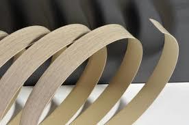 high gloss flat edge laminate PVC edge