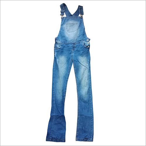 Used Ladies Denim Dangri