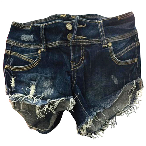 Used Ladies Denim Shorts