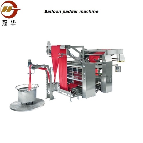 Stainless steel double balloon padder