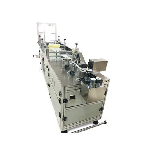 Automatic Bouffant Cap Making Machine