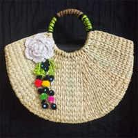 Grass Hand Bags