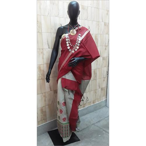 Silk Mekhela Chadar