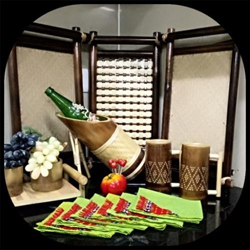 Handmade Bamboo Tray