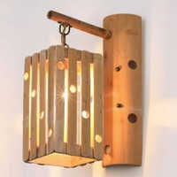 Bamboo Wall Lamp