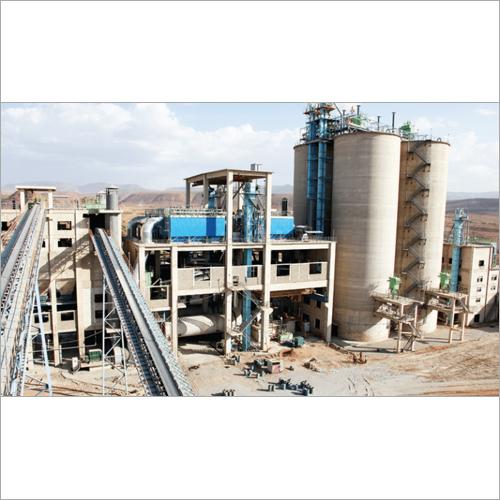 Semi Automatic Cement Plants