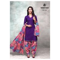 UNSTICHED COTTON PRINTED SUITS COLLECTION