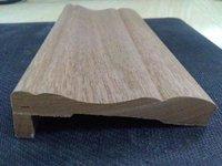 Poplar wood decorative  Mouldings with customized shape