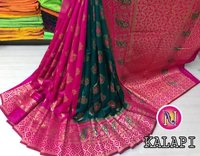Pure Banarasi Silk Zari Saree
