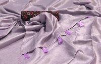 100 Count Soft Linen Sarees