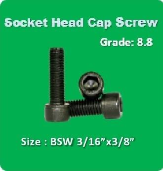 Socket Head Cap Screw BSW 3 16x3 8