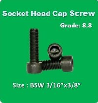 Socket Head Cap Screw BSW 3 16x3 8