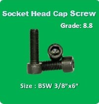 Socket Head Cap Screw BSW 3 8x6