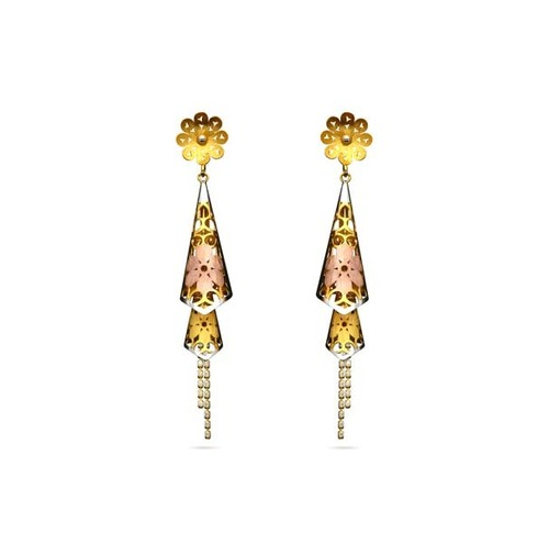 Designer Conic Hanging Earrings