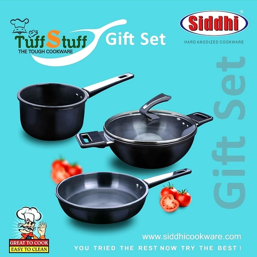 Hard Anodized Cookware Gift set