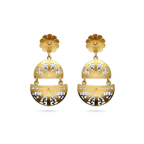 Designer Semi Circle Earrings